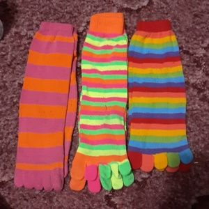 Toe sock bundle